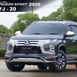 ชุดแต่งรอบคัน Mitsubishi Pajero Sport 2019 ทรง Freeform FJ-20