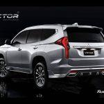 ชุดแต่งรอบคัน Mitsubishi Pajero Sport 2019 ทรง Victor
