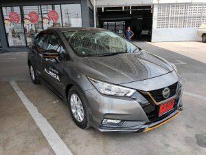 ชุดแต่งรอบคัน Nissan Almera 2020 ทรง S1