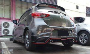 ชุดแต่งรอบคัน Mazda2 2020 ทรง Ark Sport