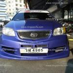 ชุดแต่งรอบคัน Toyota Vios ทรง DAMD ผสม Lucky Star