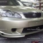 ชุดแต่งรอบคัน Toyota Altis 02-06 ทรง Levin