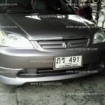 ชุดแต่งรอบคัน Honda Civic Dimension ทรง F-1 ผสมลิ้นหลังปี 2004 ข้าง Type-R