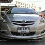 ชุดแต่งรอบคัน Toyota Vios 2007 ทรง V.4