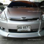 ชุดแต่งรอบคัน Toyota Wish ทรง WALD