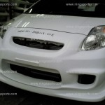 ชุดแต่งรอบคัน Toyota Yaris 2009 ทรง ing+1