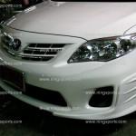 ชุดแต่งรอบคัน Toyota Altis 10 (Minorchange) ทรง V.2