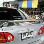 สปอยเลอร์ Toyota Altis 02-06 ทรงศูนย์