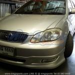 ลิ้นหน้า-หลัง Toyota Altis 02-06 ทรง G Limited