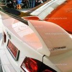 สปอยเลอร์ Honda Civic FD ทรง Mugen RR แบบคาร์บอน