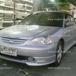 ชุดแต่งรอบคัน Honda Civic Dimension หน้า-ข้าง Type-R หลัง 2004