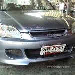 กันชนหน้า Honda Civic 96 EK ทรง V.1