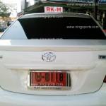 สปอยเลอร์ Toyota Vios 2007 ทรงแนบ Ducktail
