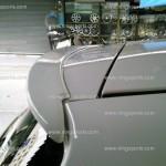 สปอยเลอร์ Toyota Yaris ทรงแนบ