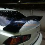 สปอยเลอร์ Mitsubishi Lancer EVO X (คาร์บอน)