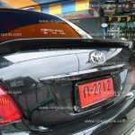 สปอยเลอร์ Toyota Vios 2007 ทรงแนบ Ducktail V.2