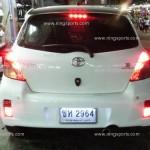 กันชนหลัง Toyota Yaris ทรง RS V.2