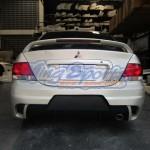 กันชนหลัง Mitsubishi New Lancer ทรง ings+1