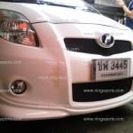 สเกิร์ตต่อกันชนหน้า RS สำหรับ Toyota Yaris