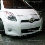 กันชนหน้า Toyota Yaris 09 ไมเนอร์เชนจ์ ทรง RS
