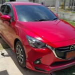 ชุดแต่งรอบคัน Mazda2 2015 Skyactiv 4D ทรง Option