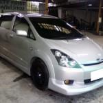 ชุดแต่งรอบคัน Toyota Wish ทรง Kenstyle