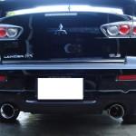 ลิ้นหลัง Mitsubishi Lancer EX ทรง Ralliart