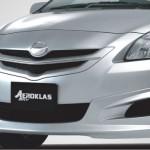 ชุดแต่งรอบคัน Toyota Vios 2007 ทรง Aeroklas SRV Type I