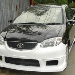 กันชนหน้า Toyota Vios ทรง AXIS