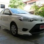 ชุดแต่งรอบคัน Toyota New Vios 2013 ทรง V.4