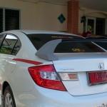 สปอยเลอร์ Honda Civic FB ทรง Type-R