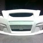 กันชนหน้า Toyota New Vios 2007 ทรง V.8 (Porche)