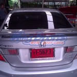 สปอยเลอร์ Honda Civic FB ทรง MDLL แบบยกสูง