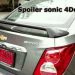 สปอยเลอร์ Chevrolet Sonic 4D ทรงยกสูง