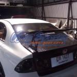 สปอยเลอร์ Honda Civic FD ทรง J'S Racing แบบคาร์บอนทั้งตัว