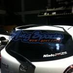 สปอยเลอร์ Mazda2 Hatchback ทรง Filewar