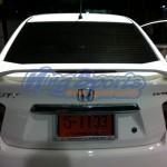 สปอยเลอร์ Honda City 2011 ทรง MDL มีไฟเบรก