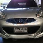 ชุดแต่งรอบคัน Nissan March 2013 ทรง IDEO