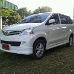 ชุดแต่งรอบคัน Toyota Avanza 2012 ทรง V.2 (สำหรับรถรุ่นไม่ท็อป)