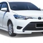 ชุดแต่งรอบคัน Toyota New Vios 2013 ทรง Smart (หน้า 2 ชิ้น)