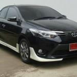 ชุดแต่งรอบคัน Toyota New Vios 2013 ทรง V.1