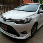 ชุดแต่งรอบคัน Toyota New Vios 2013 ทรง V.2