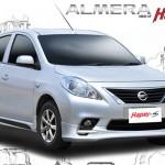 ชุดแต่งรอบคัน Nissan Almera ทรง Haper-S