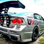 สปอยเลอร์ Honda Civic FD ทรง SUPER GT