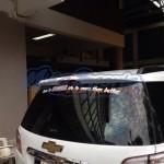 สปอยเลอร์ Chevrolet Trailblazer ทรงห้าง OEM