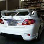 สปอยเลอร์ Toyota New Altis 08-10 ทรง TRDD