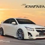 ชุดแต่งรอบคัน Chevrolet Cruze ทรง Kantara-R