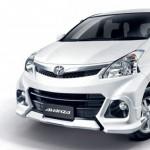 ชุดแต่งรอบคัน Toyota Avanza 2012 ทรง Touring (สำหรับรถรุ่นท็อป)