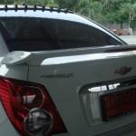 สปอยเลอร์ Chevrolet Sonic 4D ทรง Vios Style