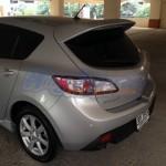 สปอยเลอร์ Mazda 3 5D 2011 ทรง MPS